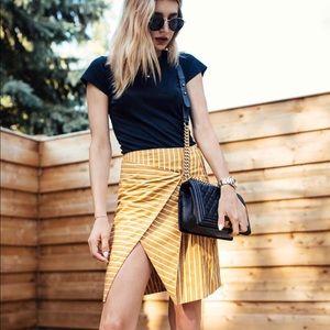J.O.A pinstripe skirt